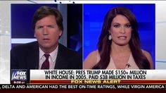 President Trump's 2005 Tax Return Revealed Paid $38 Million Tucker Carls...