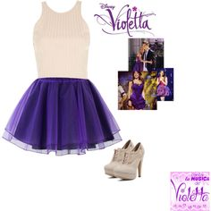 Violetta-En Mi Mundo by bluechrysalis on Polyvore featuring mode, River Island, Chicwish, Charlotte Russe, Ultimo, women's clothing, women's fashion, women, female and woman