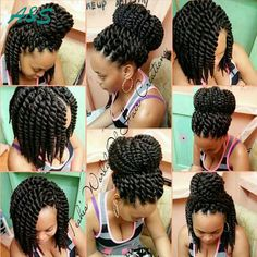 """14"""" Havana Mambo Twist Crochet Braids synthetic hair for braid freetress hair expression braiding hair freetress crochet braid.  AS hair store from aliexpress. Our email is ashair2016@outlook.com. wholesale price"""