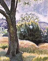Charles Ephraim Burchfield was an American painter and visionary artist, known for his passionate watercolors of nature scenes and townscapes. Watercolor Landscape, Landscape Paintings, Landscape Art, Landscapes, American Scene Painting, Future Artist, Art Themes, Nature Scenes, American Artists