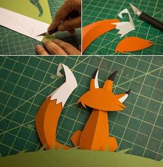Paper Bat, 3d Paper Art, Paper Artwork, Diy Paper, Paper Crafts, Origami, Cuento Pop Up, Diy And Crafts, Arts And Crafts