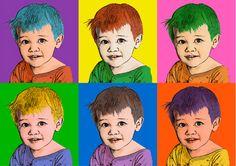 Personalized Pop Art Portraits