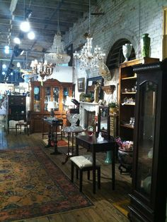 DuPre's Antique Market in Marietta, GA. This one of my all time favorites on Marietta square!