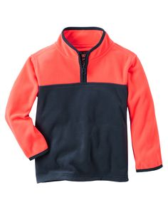 Kid Boy Quarter-Zip B'gosh Fleece Cozies from OshKosh B'gosh. Shop clothing & accessories from a trusted name in kids, toddlers, and baby clothes.