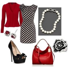Work Wear 8 - Polyvore-use houndstooth dress