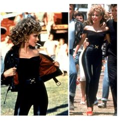 The Grease Bad Sandy outfit.
