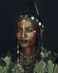 Wodaabe People, Chad - Jimmy NelsonYou can find World cultures and more on our website. World Photography, People Photography, African Beauty, African Art, African Face Paint, Black Is Beautiful, Beautiful People, Amazing People, Jimmy Nelson