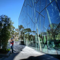 Explore Melbourne's architecture: fed square