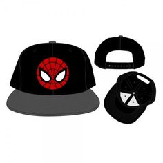 Marvel Comics Ultimate Spider-Man Black Snapback