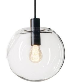 Selene Pendant Ø 20 cm - Glass by ClassiCon - Design furniture and decoration with Made in Design