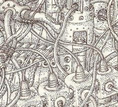 José Torres  Ilustrador: El secreto mundo de las máquinas.