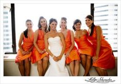 Orange You Glad You're Our Wedding Color? :  wedding color schemes 110 1