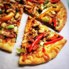 chinese, Gong Bao Chicken Pizza, kung pao chicken pizza, pizza, recipe, Stir Fry Pizza, 宮保雞丁, 宮保雞丁比薩, 比薩 Local Pizza, Pizza Pizza, Chicken Stir Fry, Chicken Pizza, Bao, Chinese Food, Vegetable Pizza, Fries, Authentic Chinese Recipes