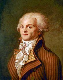 Maximilien Robespierre, est un avocat et homme politique français né le 6 mai 1758 à Arras et mort guillotiné le 28 juillet 1794 à Paris, place de la Révolution. Maximilien de Robespierre est l'une des principales figures de la Révolution française et demeure aussi l'un des personnages les plus controversés de cette période. Pour les français, Robespierre st identifié à la Révolution et à la terreur qui fit tant de mort par décapitation.