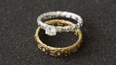 monomer // Ringe / Verlobung / Hochzeit / gold / Modell Trauring / silber / Modell Verlobungsring