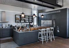 4-loft-cocina-moderna-gris-y-acero