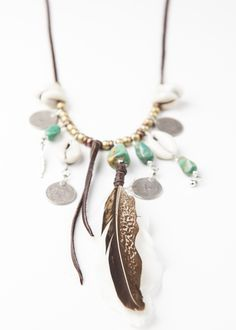 Boho Statement Necklace - Day Tripper by SoulMakes