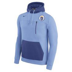 c2e8c7c5582e Men s Kansas City Royals Nike Light Blue AV 2 Fleece Pullover Hoodie