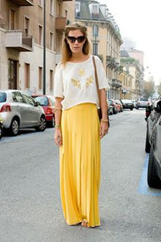 MAPZ LA-FASHION: LONG SKIRTS ARE SO IN