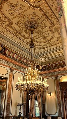 Paper mache chandelier in the yusupov palace st petersburg russia golden palace mexico mozeypictures Choice Image