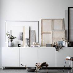 IKEA Livet Hemma - interior design and inspiration for your home Ikea Inspiration, Interior Design Inspiration, Ikea Living Room, Living Room Storage, Living Spaces, Muebles Rack Tv, Sideboard Dekor, Design Scandinavian, Home And Living