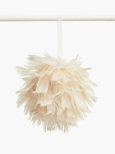 Buy John Lewis & Partners Sanctuary Feather Bauble, Ivory from our Baubles & Tree Decorations range at John Lewis & Partners. Christmas Traditions, Christmas Themes, Christmas Tree Decorations, Traditional Christmas Tree, Pastel Decor, Christmas Tree Baubles, Christmas 2019, Xmas, Tree Toppers