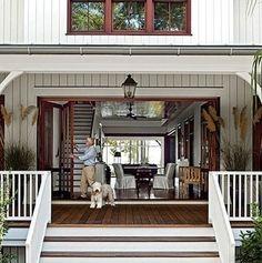 Foldaway Doors - Porch Ideas - Bob Vila