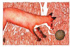 Fox Finds Hedgehog by Megan N. Smith