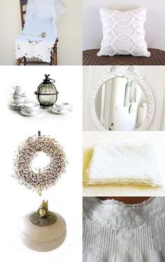 Tuesdays Whites by Anne on Etsy--Pinned with TreasuryPin.com