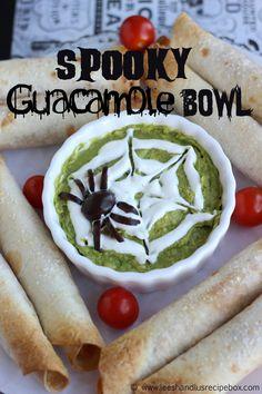 Spooky Guacamole Bowl - Eighteen25