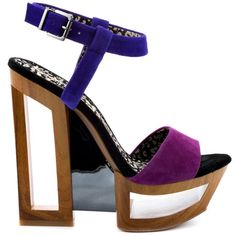Tanya - Wisteria Combo Suede by Jessica Simpson