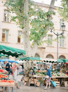 Aix-en-Provence Market (Speaking of French Riveria). Le sigh, imagine us lounging at a cafe laughing until we pee ;)