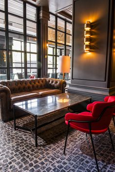 Chester sofa in Tatel Restaurant Madrid
