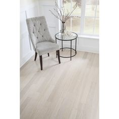 white bamboo wide plank floors lofts - Google Search