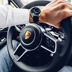 Taking Dual Time Silver for a spin in the 2017 Porsche Macan GTS #vodrich (:@instaexotics) Share
