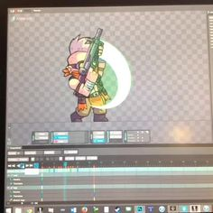 Art of Bullet Age game animation using Spine - by Halfbot.