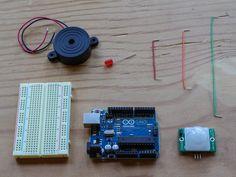 PIR Sensor ArduinoAlarm
