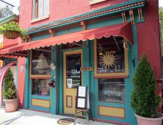 Historic Midway Museum Store in Downtown Midway, Kentucky near Midway University.