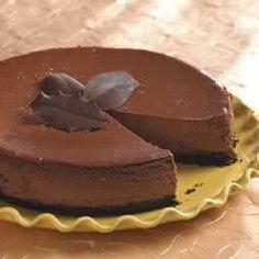 Chocoladecheesecake met cappuccinoroom @ allrecipes.nl