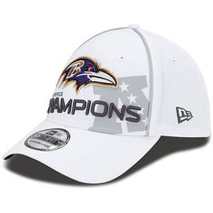 52f97b5cb New Era Baltimore Ravens 2012 AFC Conference Champions Trophy Collection  39THIRTY Structured Flex Hat New Era