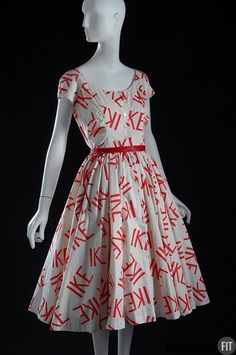 """""""I Like Ike"""", 1956 - worn to show support for Eisenhower's re-election to the Presidency"""