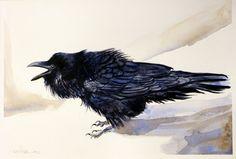 Raven от AbingdonArts на Etsy