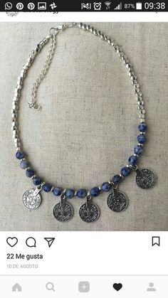 Collar con monedas Jewelry Accessories, Jewelry Design, French Girls, Hippie Chic, Boho Necklace, Beautiful Necklaces, Holi, Jewerly, Diy Ideas
