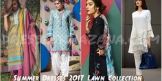 Famous Spring Summer Dresses 2017 Lawn Collection Clothes for Girls