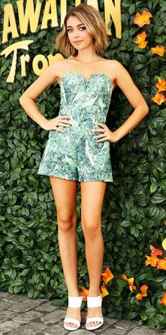 Sarah Hyland in H&M Conscious Collection.