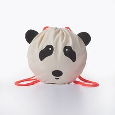 Quick + Easy Kids Craft - DIY Panda Bag Children's Project