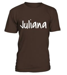 # Juliana - Your T-shirt With Your Name On It  copy .    COUPON CODE    Click here ( image ) to get COUPON CODE  for all products :      HOW TO ORDER:  1. Select the style and color you want:  2. Click Reserve it now  3. Select size and quantity  4. Enter shipping and billing information  5. Done! Simple as that!    TIPS: Buy 2 or more to save shipping cost!    This is printable if you purchase only one piece. so dont worry, you will get yours.                       *** You can pay the…