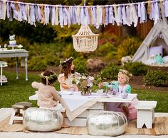 A Walk in the Wildflowers Party for Pottery Barn Kids