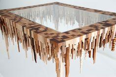 Esculturas de madeira inspiradas nas paisagens urbanas - IDEAGRID _04