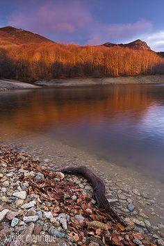 Landscape, Les Agudes des del pantà de Santa Fe del Montseny Parc Natural del Montseny